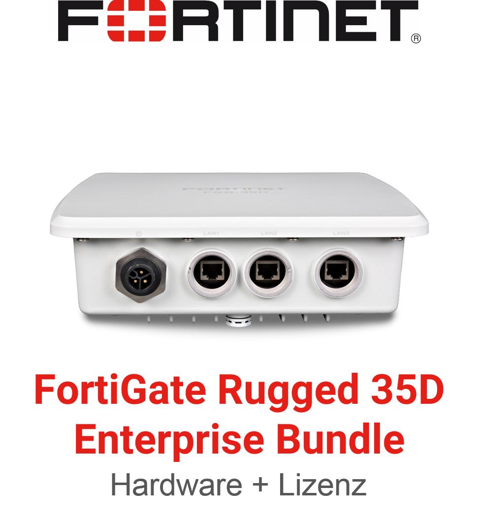 Fortinet FortiGateRugged-35D - Enterprise Bundle (Hardware + Lizenz)