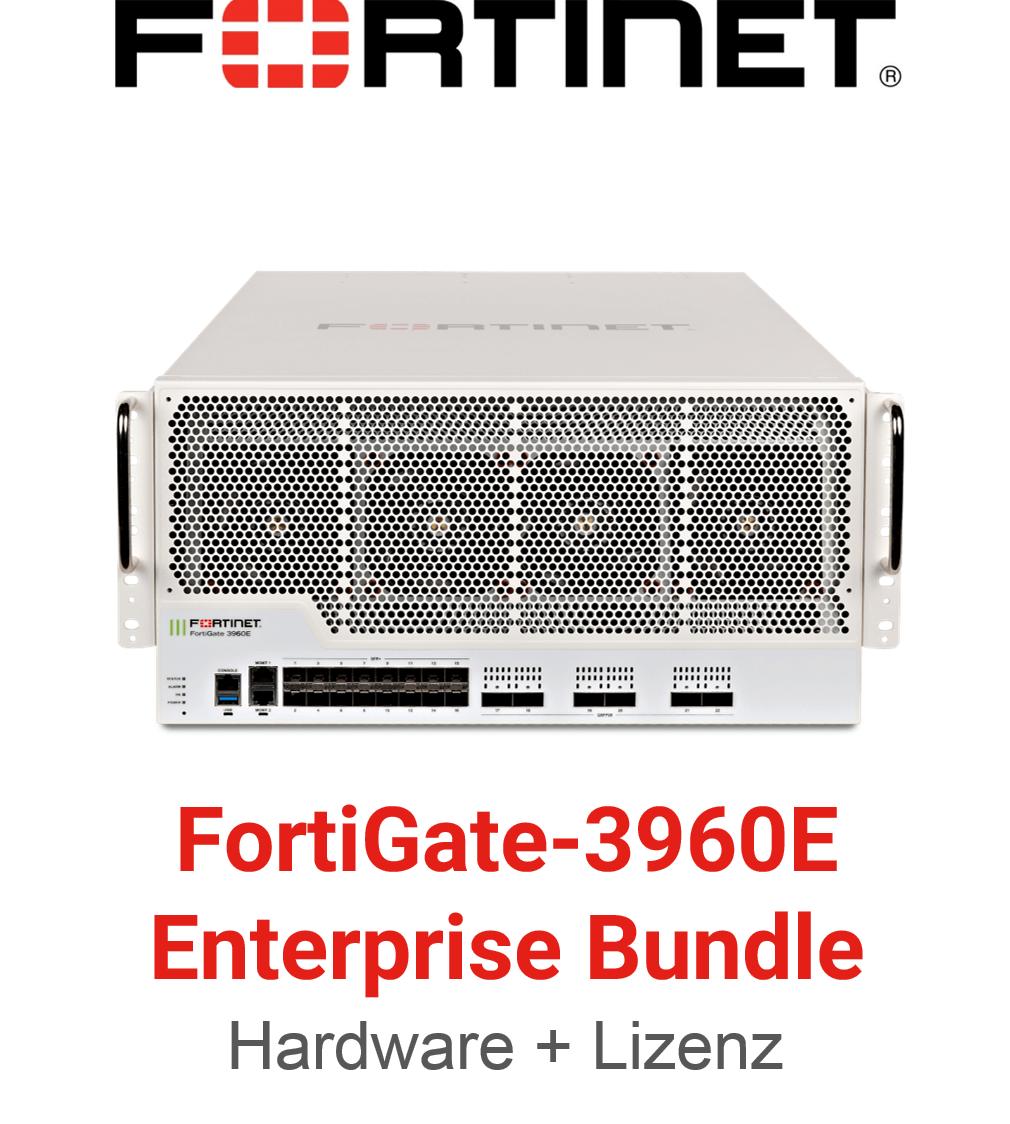 Fortinet FortiGate-3960E - Enterprise Bundle (Hardware + Lizenz)