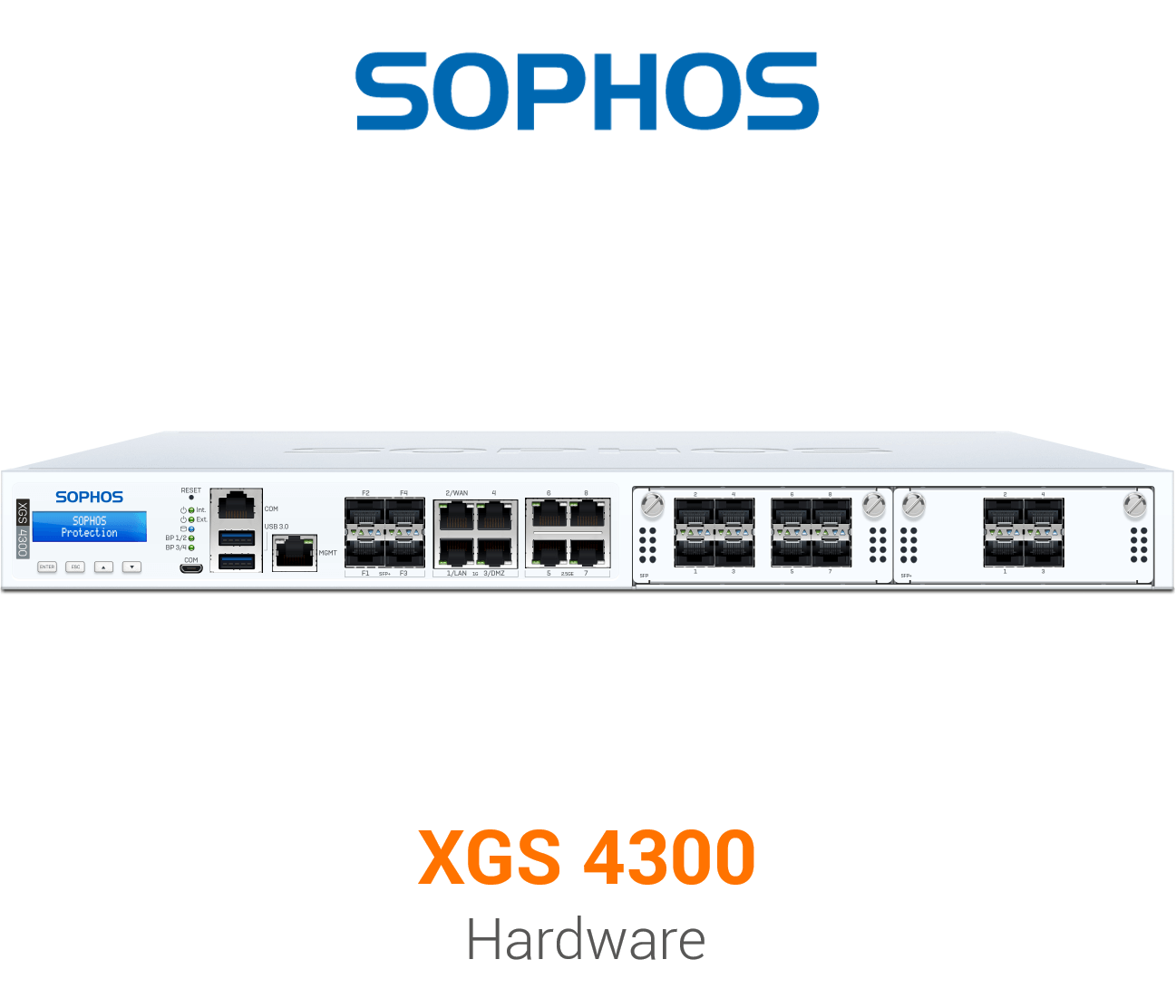 Sophos XGS 4300 Security Appliance