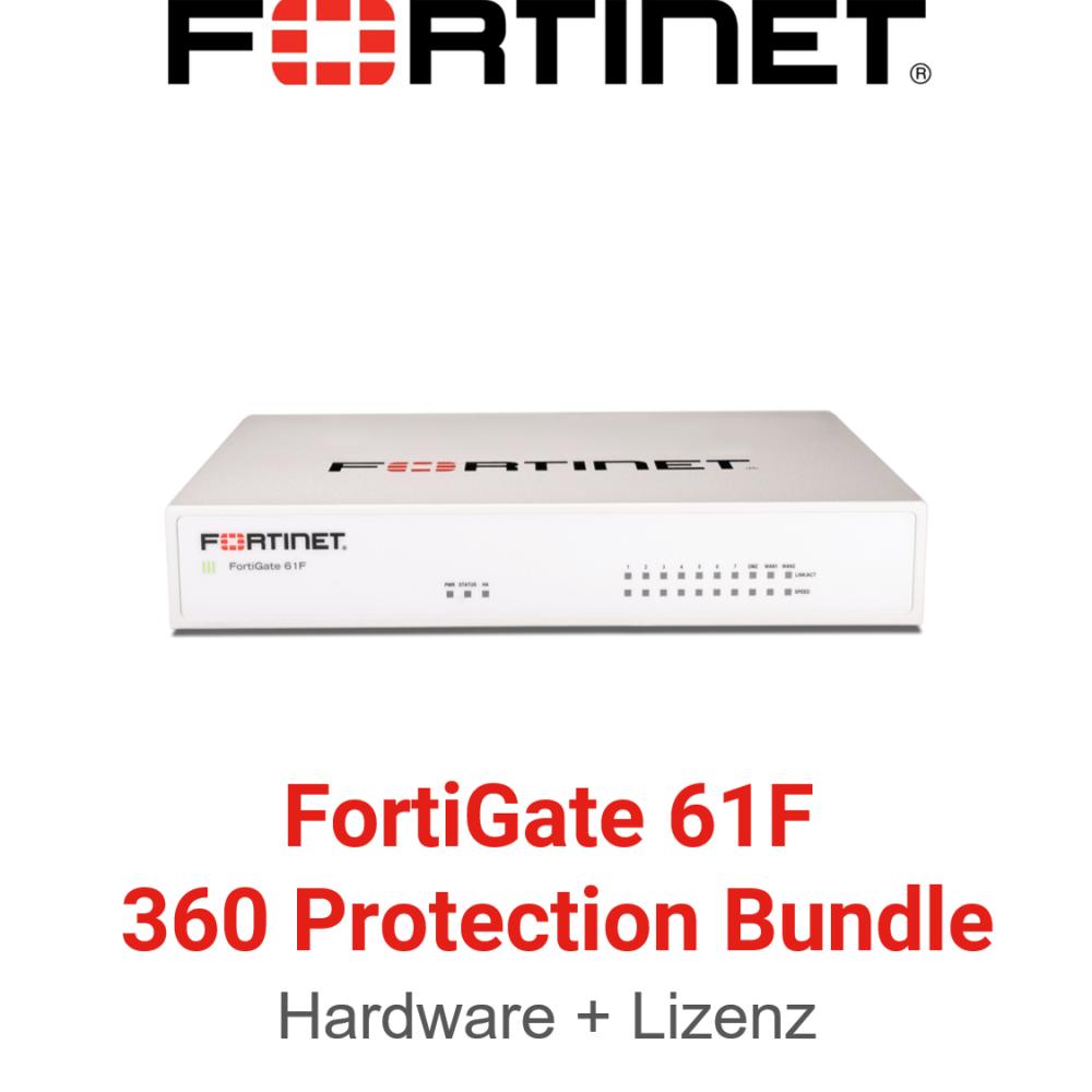 Fortinet FortiGate-61F - 360 Bundle (Hardware + Lizenz)