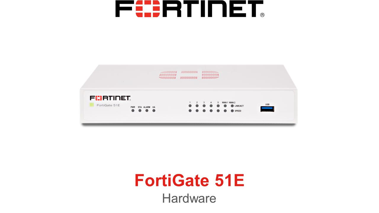 Fortinet FortiGate 51E Firewall